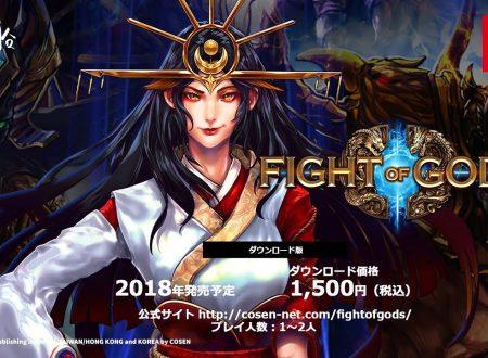 Fight of Gods: pubblicato un nuovo video della versione Nintendo Switch