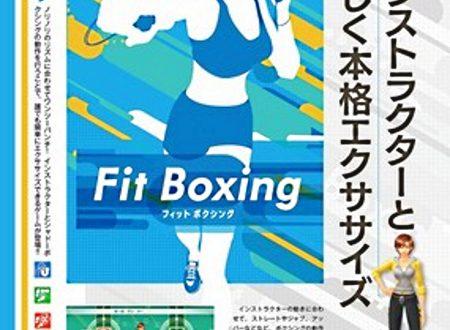 Fitness Boxing: il titolo è in arrivo il 20 dicembre sui Nintendo Switch giapponesi