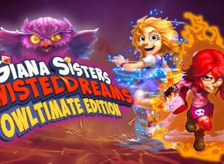 Giana Sisters: Twisted Dreams – Owltimate Edition: uno sguardo in video al titolo dai Nintendo Switch europei