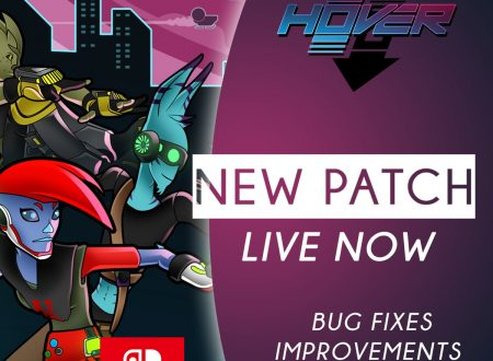 Hover: disponibile la versione 1.0.1 del titolo sui Nintendo Switch europei