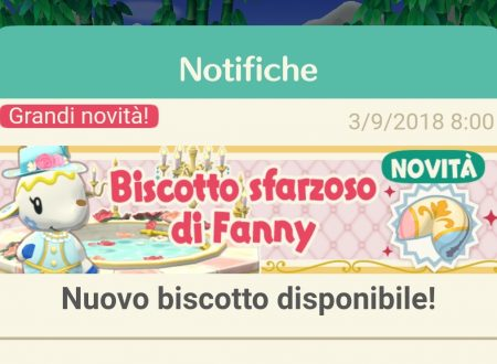 Animal Crossing: Pocket Camp, ora disponibile il biscotto della fortuna di Fanny