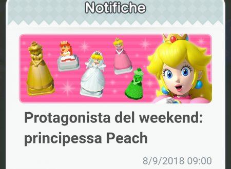Super Mario Run: disponibili gli oggetti della Principessa Peach, protagonista del weekend