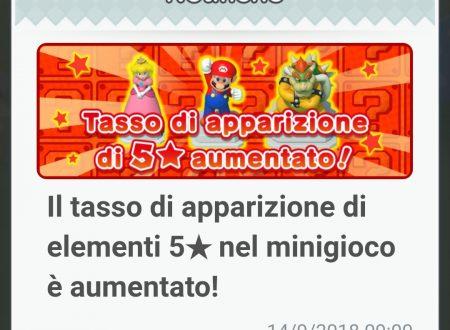 Super Mario Run: aumentato il tasso di apparizione degli elementi a cinque stelle di Remix 10