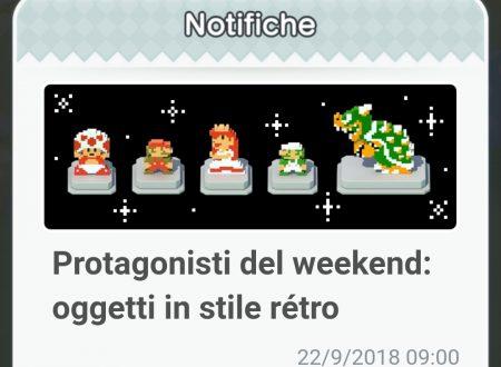 Super Mario Run: di nuovo disponibili gli oggetti in stile retrò, protagonisti del weekend