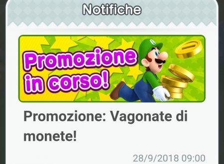 """Super Mario Run: di nuovo disponibile la promozione """"Vagonate di monete"""""""