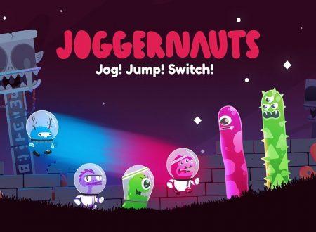 Joggernauts: uno sguardo in video al titolo dai Nintendo Switch europei