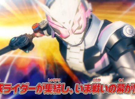 Kamen Rider: Climax Scramble, pubblicato il trailer di debutto del titolo