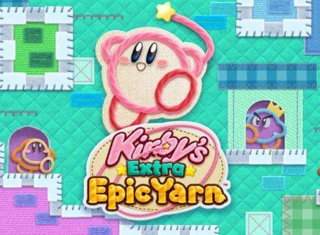 Kirby's Extra Epic Yarn: il titolo sarà giocabile anche sulle versioni standard dei Nintendo 3DS