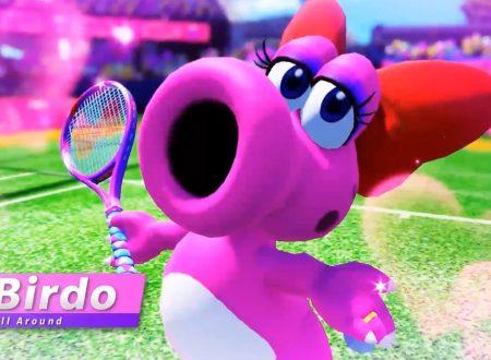 Mario Tennis Aces: Strutzi, Tipo Timido, Koopa e Pipino Piranha in arrivo presto nel titolo