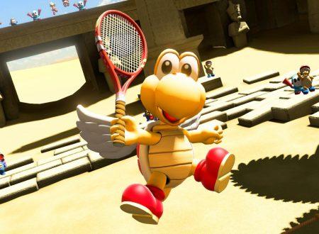 Mario Tennis Aces: pubblicato il changelog ufficiale della versione 2.0.0