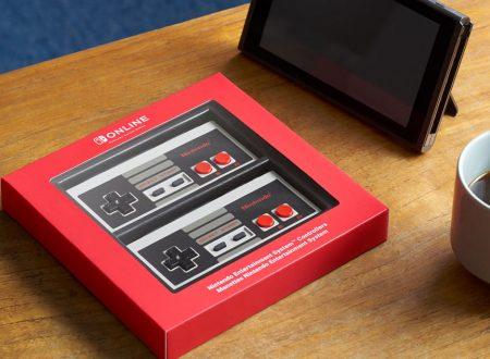 My Nintendo Store: I voucher possono essere utilizzati per l'acquisto del NES controller del Nintendo Switch Online