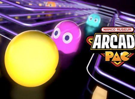 NAMCO MUSEUM ARCADE PAC: pubblicato il trailer di lancio del titolo