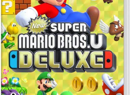 New Super Mario Bros. U Deluxe: il porting è in arrivo l'11 gennaio su Nintendo Switch