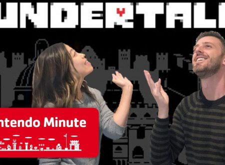 Nintendo Minute: Undertale su Nintendo Switch in video con Kit e Krysta