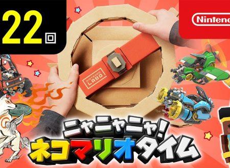 Nyannyan Neko Mario Time: pubblicato l'episodio 122 dello show felino con Mario e Peach