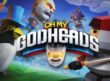 Oh My Godheads: Party Edition, il titolo è in arrivo il 25 settembre sull'eShop di Nintendo Switch