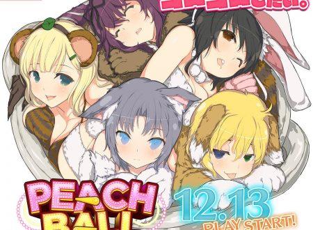 Peach Ball: Senran Kagura, gli sviluppatori spiegano la difficoltà di ricreare le sensazioni di toccare il corpo femminile, occasione unica grazie all'HD Rumble