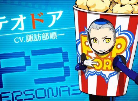 Persona Q2: New Cinema Labyrinth, pubblicato un trailer su Theodore da Persona 3 Portable