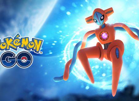 Pokèmon GO: Deoxys è in arrivo prossimamente nei Raid EX del titolo mobile