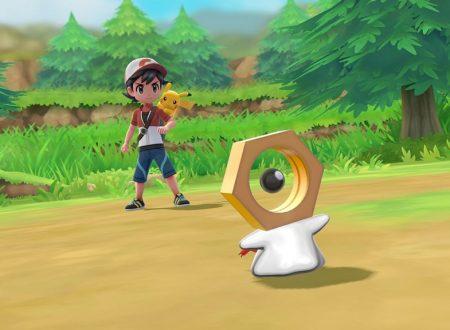 Pokèmon Let's GO Eevee & Pikachu/ Pokèmon GO: Rivelato Meltan, il nuovo Pokèmon Bullone