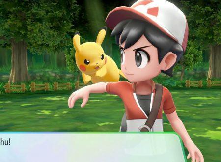 Pokèmon Let's GO, Pikachu & Eevee: pubblicati dei nuovi video direct-feed sui due titoli