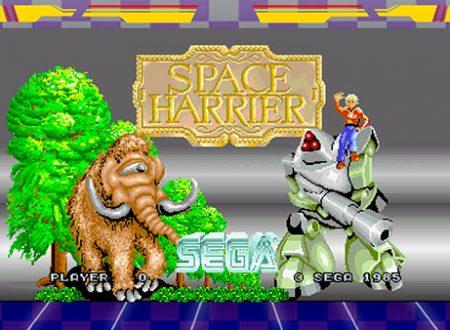 SEGA Ages: pubblicati i primi screenshots dedicati a Space Harrier