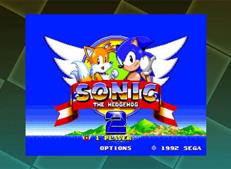SEGA Ages: pubblicati nuovi screenshots su Sonic the Hedgehog 2, Out Run, Columns II, Thunder Force AC.