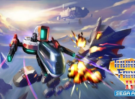 SEGA Ages: pubblicato un video gameplay dedicato a Thunder Force IV