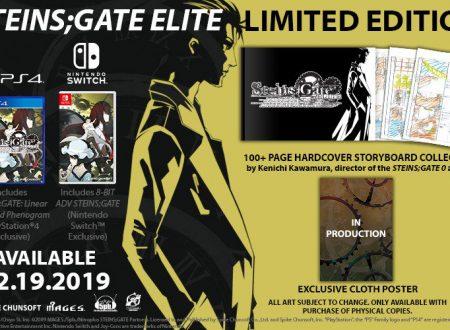 Steins;Gate Elite, il titolo è in arrivo il 19 febbraio sui Nintendo Switch americani