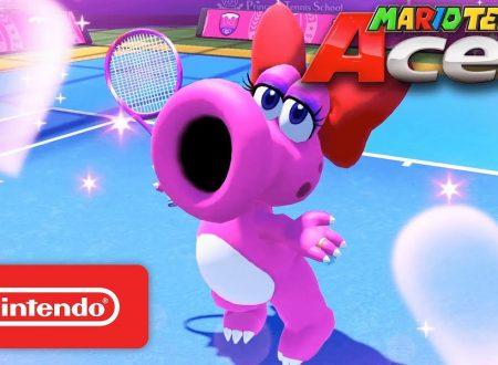 Mario Tennis Aces: pubblicato un nuovo trailer dedicato a Strutzi