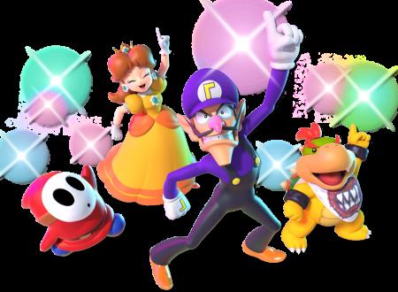 Super Mario Party: pubblicati dei nuovi artwork ufficiali sui personaggi del titolo