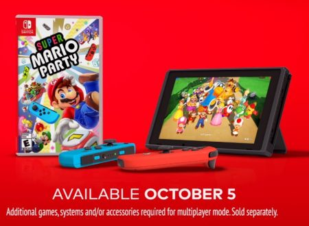 Super Mario Party: pubblicato un video commercial americano sul titolo