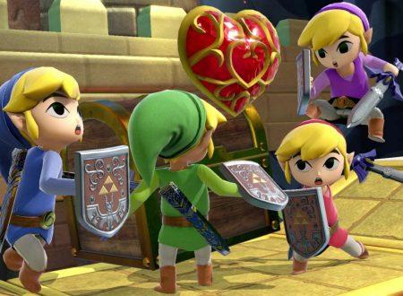 Super Smash Bros. Ultimate: novità del 10 settembre, Link Cartone, il piccolo eroe di Hyrule