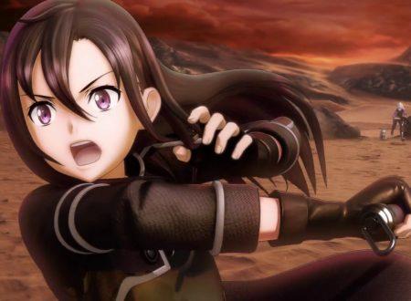 Sword Art Online: Hollow Realization e Sword Art Online: Fatal Bullet sono in arrivo su Nintendo Switch