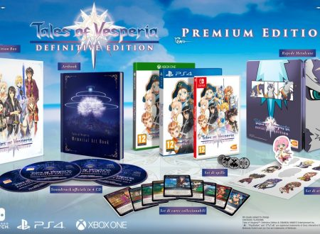 Tales of Vesperia: Definitive Edition, mostrata la Premium Edition, non richiederà un download aggiuntivo