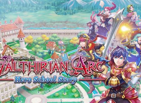 Valthirian Arc: Hero School Story, il titolo è in arrivo il 2 ottobre sull'eShop di Nintendo Switch