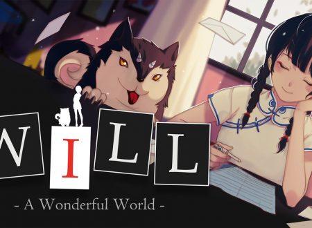 WILL: A Wonderful World, il titolo è in arrivo il 18 ottobre sull'eShop di Nintendo Switch