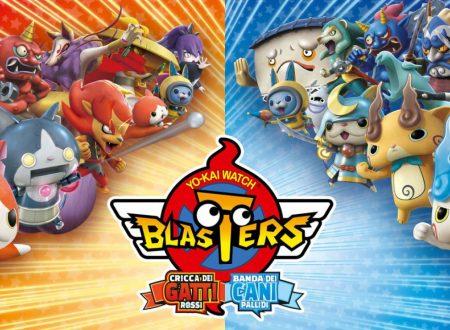 Yo-kai Watch Blasters: Cricca dei gatti rossi e Banda dei cani pallidi, pubblicato il trailer di lancio dei titoli