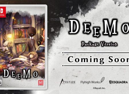 DEEMO: il titolo è in arrivo in formato retail il 29 gennaio su Nintendo Switch