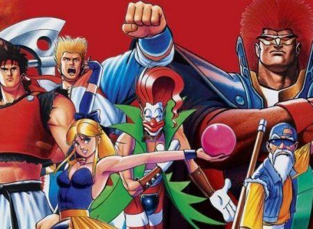 ACA NeoGeo Savage Reign: è in arrivo il 25 ottobre sui Nintendo Switch europei