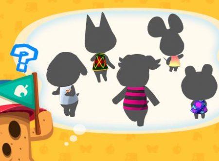 Animal Crossing: Pocket Camp: svelati cinque nuovi animali prossimamente in arrivo nel titolo