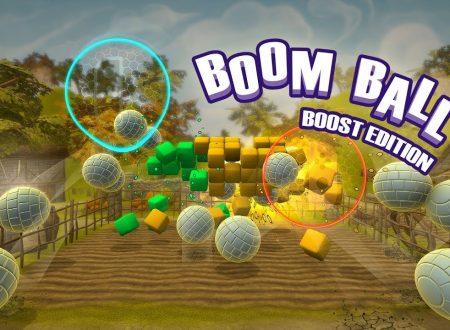 Boom Ball: Boost Edition, il titolo è in arrivo l'11 ottobre su Nintendo Switch