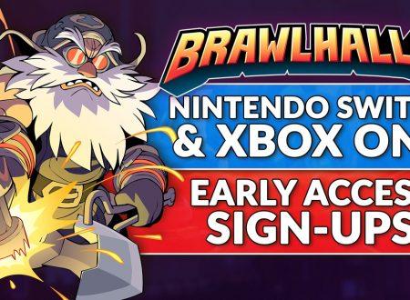 Brawlhalla: aperte le iscrizioni all'Early Access del titolo su Nintendo Switch