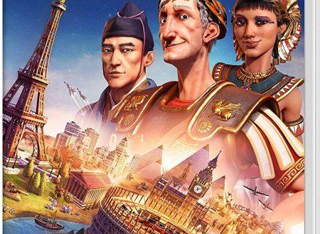 Civilization VI: pubblicata la boxart del titolo su Nintendo Switch