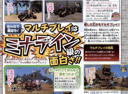 Dragon Quest Builders 2: rivelate delle nuove informazioni sul Multiplayer