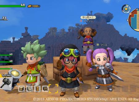 Dragon Quest Builders 2: nuovi dettagli sulla costruzione automatica dei progetti con l'aiuto degli abitanti