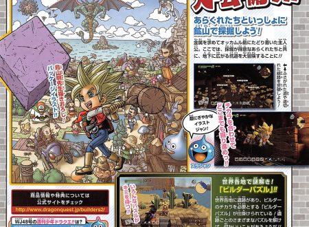 Dragon Quest Builders 2: rivelate nuove informazioni sui nuovi Builder Puzzles