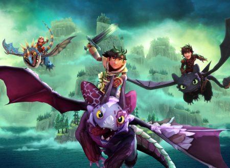 DreamWorksDragons Dawn of New Riders, il titolo è in arrivo a febbraio sui Nintendo Switch europei
