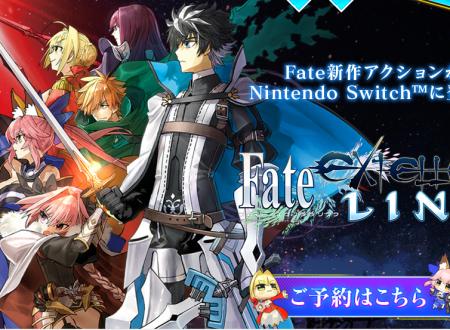 Fate/Extella Link: il titolo è in arrivo il 31 gennaio 2018 sui Nintendo Switch giapponesi
