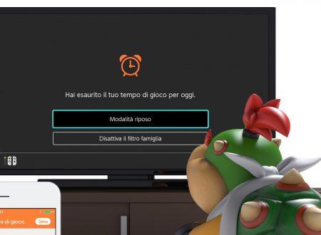 Filtro Famiglia per Nintendo Switch: l'app aggiornata alla versione 1.7.1 sui dispositivi iOS e Android